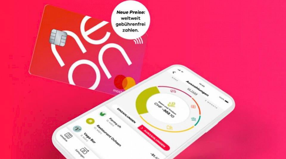 Neon streicht Gebühren für Auslandzahlungen